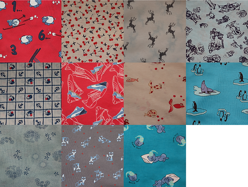 Children's fabric coupon à 2 meters