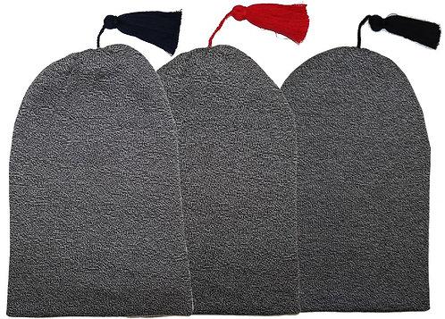 Zipfelmütze meliert - Baumwolle (Qual. 1185)