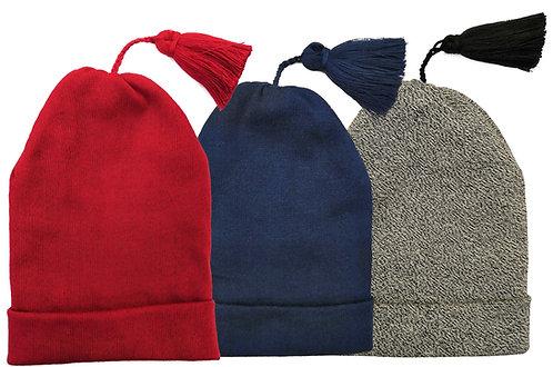 Kinder-Zipfelmütze - Baumwolle (Qual. 2000)