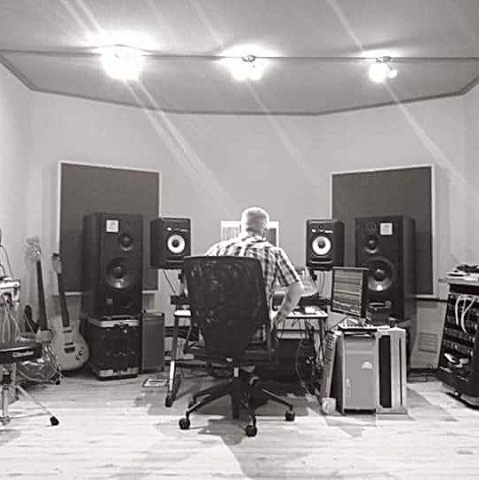 Producer Paul Tipler at Unit 13 Studios London
