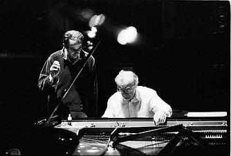 Philippe Copin, accordeur technicien Paris, avec Alfred Brendel