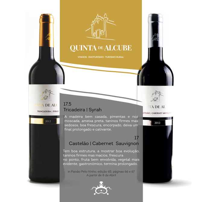 """""""Paixão pelo Vinho"""" e Quinta de Alcube"""