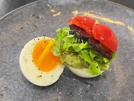 The Hard-Boiled Egg BLT