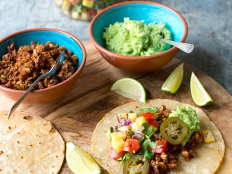 Spring Recipe: Bright Vegan Tacos