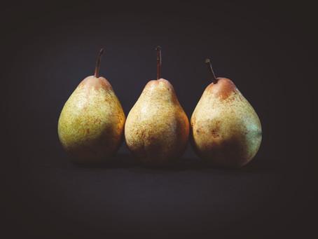 Pear, Rocket & Parmesan Salad