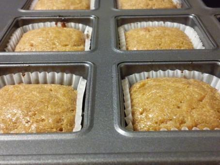 DF & GF Lemon Ginger Muffins