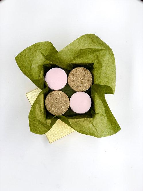 Oatmeal & Grey Dead Sea Salt Scrub & Soap Bar Set