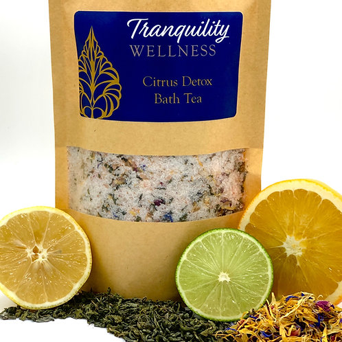 Citrus Detox Bath Tea