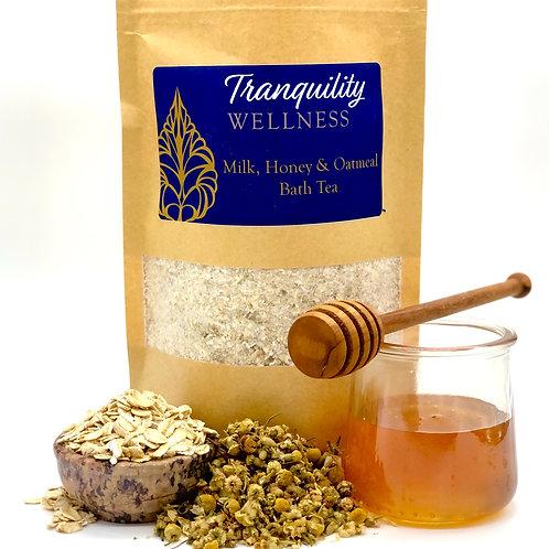 Milk, Honey, & Oatmeal Bath Tea