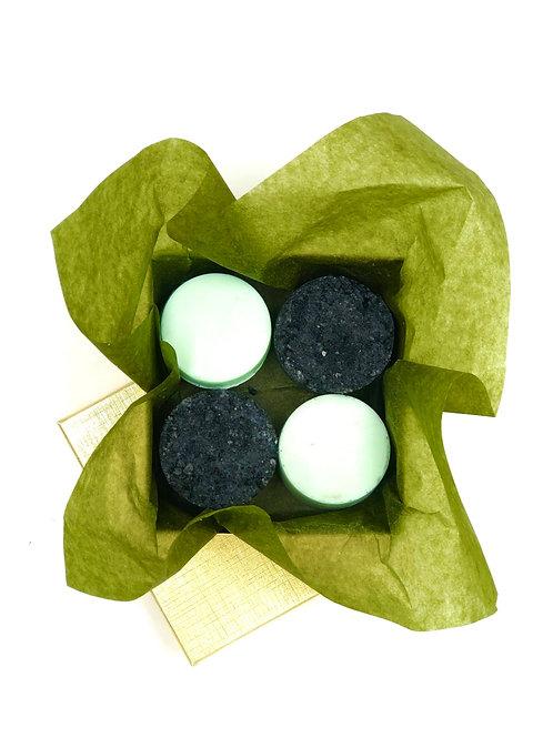 Black Hawaiian Lava Salt Scrub & Soap Set