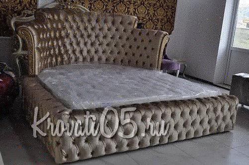 Полу круглая кровать
