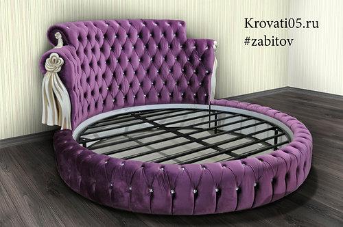 Круглая кровать Лорен