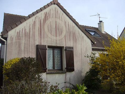 façade de maison a rénover