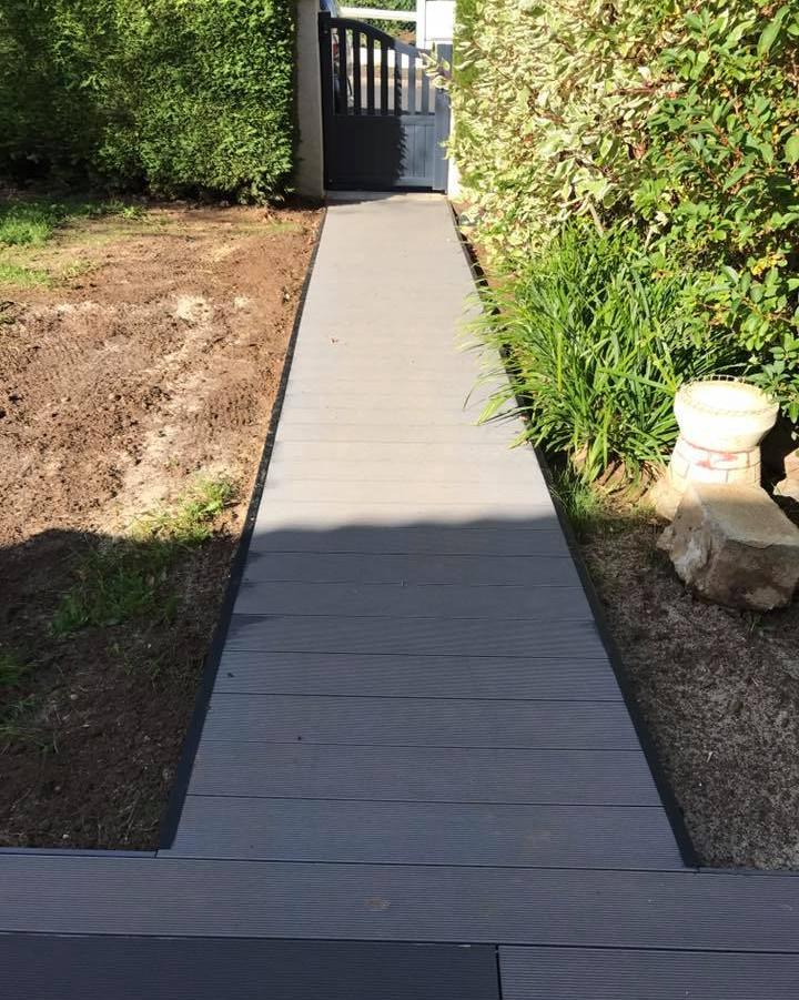 Création de terrasse composite