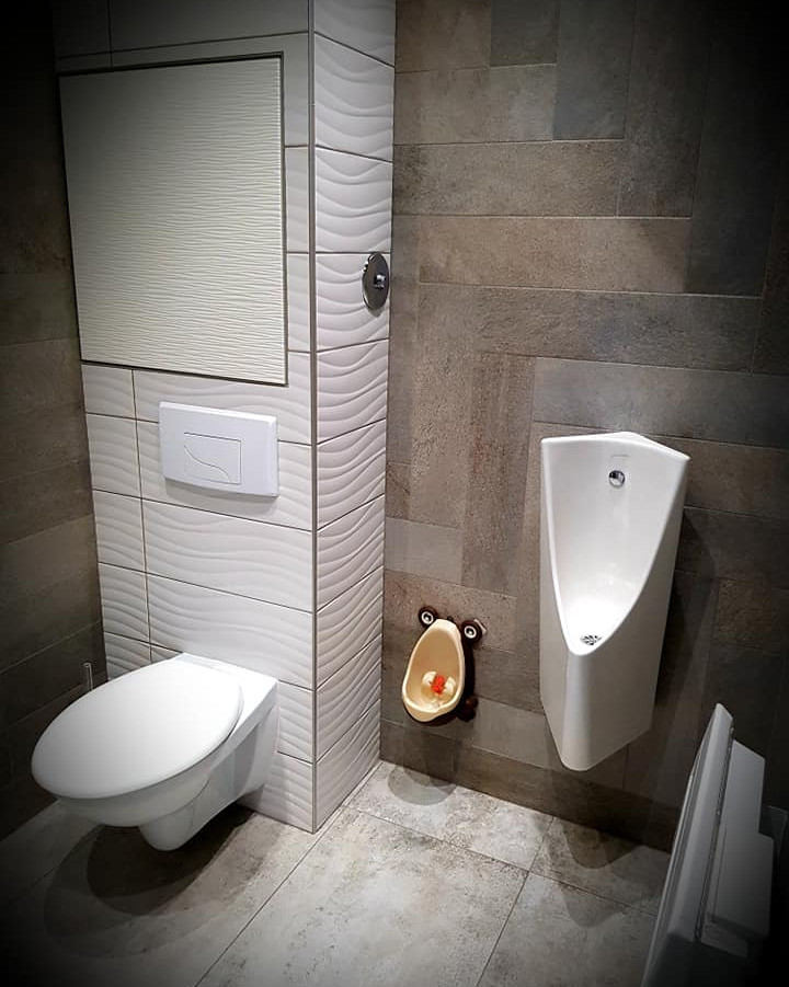 Rénovation de toilettes