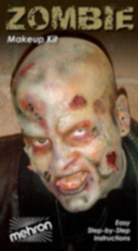 Mehron Realistic Zombie Makeup Kit