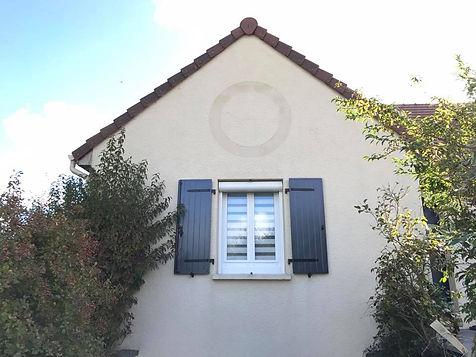 façade de maison rénovée