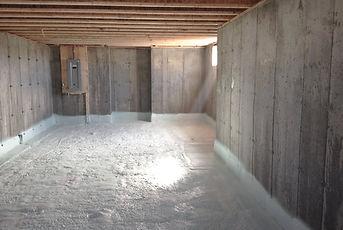 isolation des sous-sols