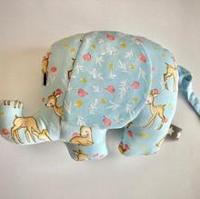 olifantje blauw met blauwe oren 18 cm