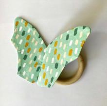 Bijtring Vlinder groen