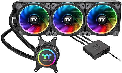 Thermaltake Floe Triple Riing 16.8 Million Color RGB TR4 Liquid  CPU Cooler