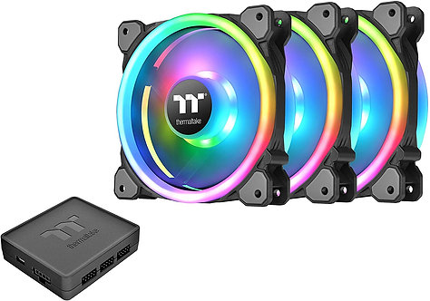 Thermaltake 140mm Software Enabled LED 9 Blades Hydraulic Bearing Fan