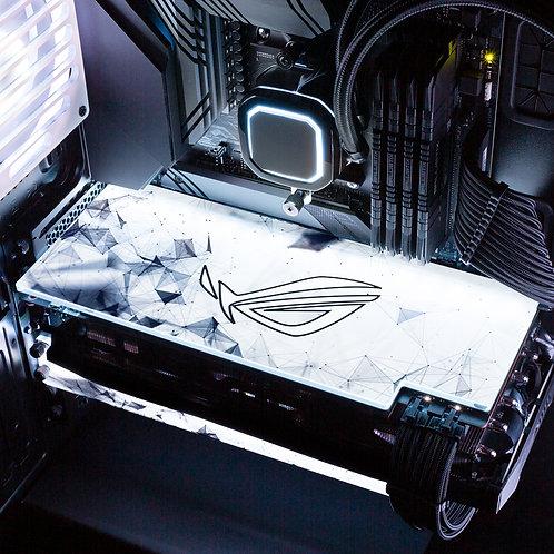 ROG Spectrum White RGB GPU Backplate