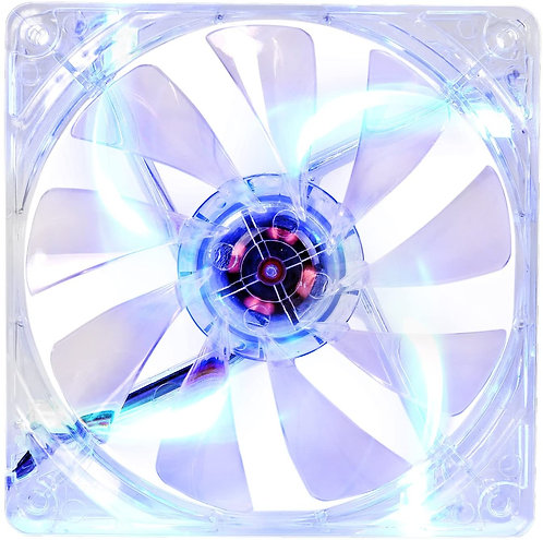 Thermaltake 120mm Pure 12 Series Blue LED Quiet High Airflow Case Fan