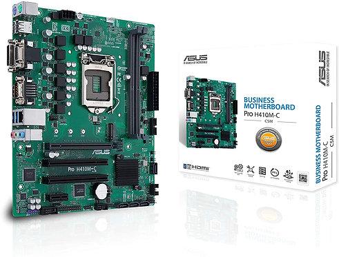 ASUS PRO H410M-C/CSM LGA1200 (Intel 10th Gen) Micro ATX Commercial Motherboard