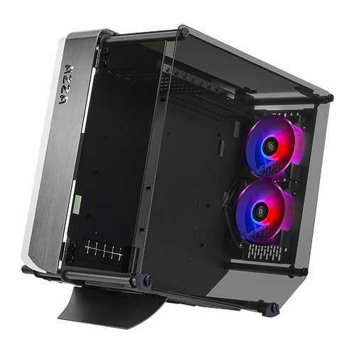 Azza Optima 803 Innovative CASE w/DRGB Fans and Tempered Glass, Black