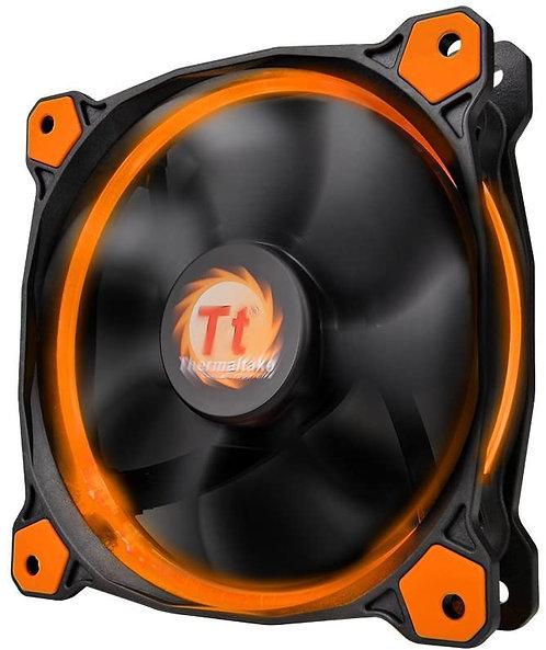 Thermaltake Ring 12 120mm Circular LED Case Radiator Cooling Fan Orange