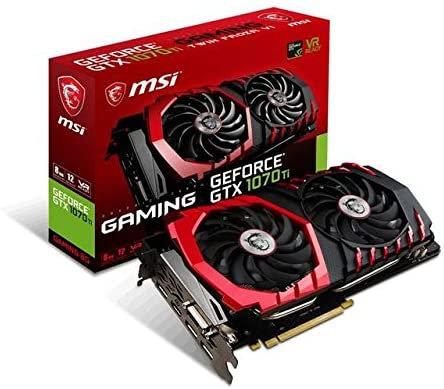 MSI Gaming GeForce GTX 1070 Ti 8GB Graphics Card