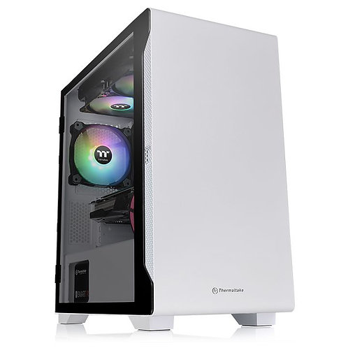 Thermaltake S100 Tempered Glass Snow Edition Micro Chassis