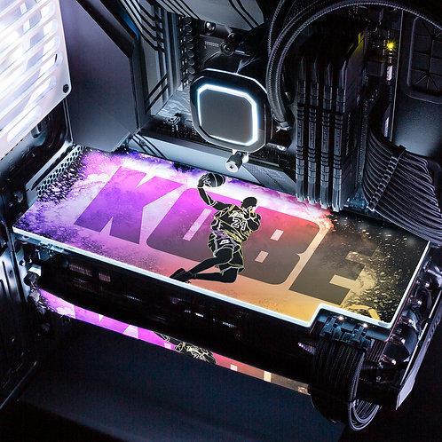 Soul of Black Mamba RGB GPU Backplate