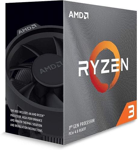 AMD Ryzen 3 3100 4-Core, 8-Thread Unlocked Desktop Processor
