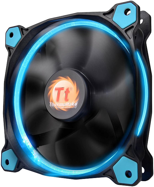 Thermaltake Riing 12 Series Blue 120mm Circular LED Ring System Cooling