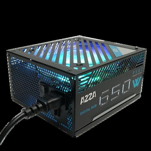 Azza PSAZ-650W(ARGB) 650 WATT Power Supply W/Addressable RGB