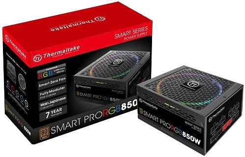 Thermaltake Smart Pro RGB 850W 80+ Bronze Smart Zero 256-Color RGB Fan