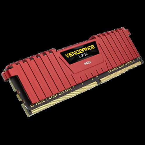 CORSAIR VENGEANCE® LPX DDR4 DRAM Memory – Red