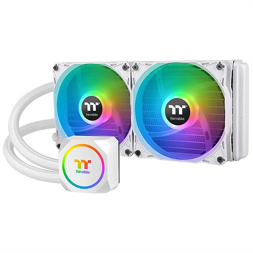 Thermaltake TH240 ARGB Liquid Cooling System 240mm High, White