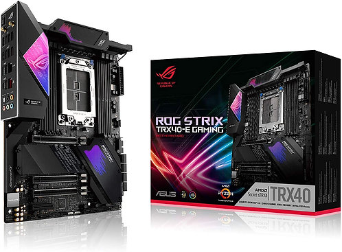 Asus ROG Strix TRX40-E Gaming AMD 3rd Gen AMD ATX Motherboard