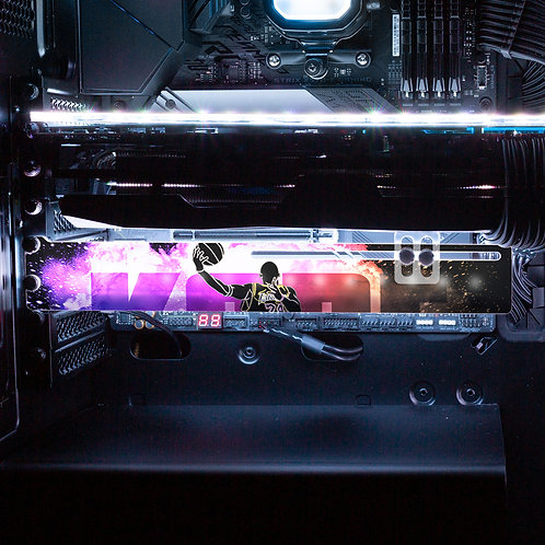 Soul of the Black Mamba RGB GPU Support Bracket