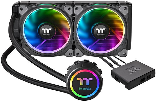 Thermaltake Floe Dual Ring RGB 240 TT Premium Edition PWM TR4 AM4