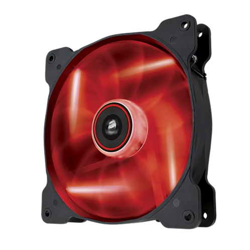 CORSAIR Air Series™ AF140 LED Red Quiet Edition High Airflow 140mm Fan
