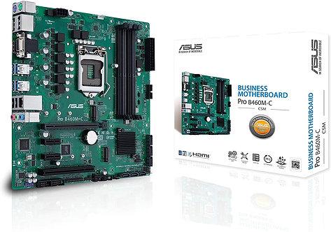 ASUS PRO B460M-C/CSM LGA1200 (Intel 10th Gen) uATX Commercial Motherboard
