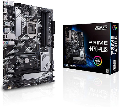 ASUS Prime H470-PLUS/CSM LGA1200 (Intel 10th Gen)