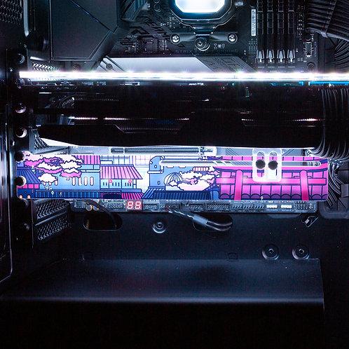 Cyberpunk Konoha RGB GPU Support Bracket