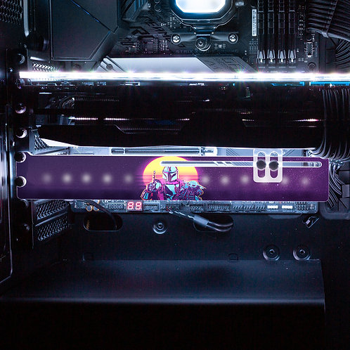 This is the Way RGB GPU Support Bracket