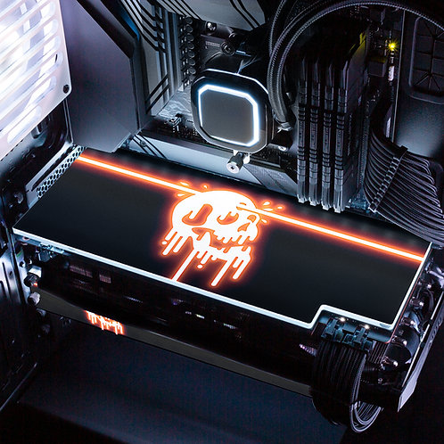 Destiny Prismatic Inferno RGB GPU Backplate