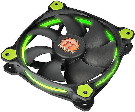 Thermaltake Ring 14 140mm Circular Ring Case/Radiator Fan System Cooling Green